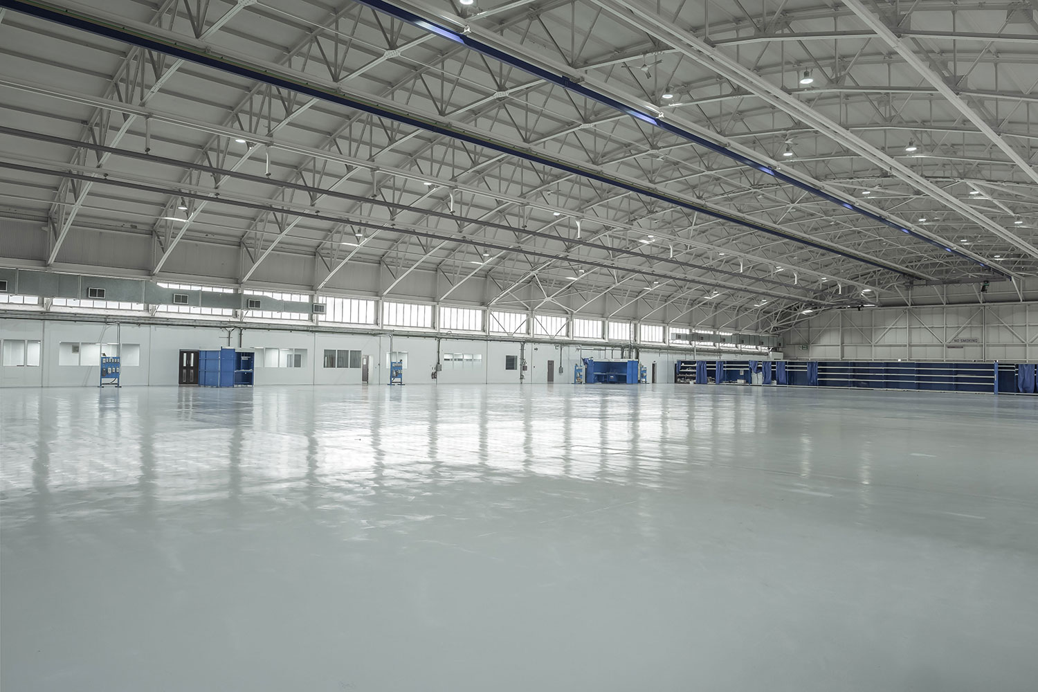 aircraft hangar floor refurbishment