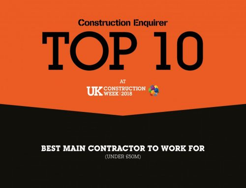 Hightown Group Are Now a Top Ten Winner at the Construction Enquirer Awards